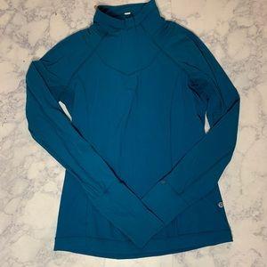 Lululemon long sleeve running shirt blue